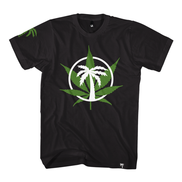 Weed Circle Tee - BLVD Supply inc