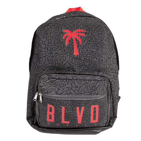 Blvd Supply Elephant Trees Backpack - BLVD Supply inc