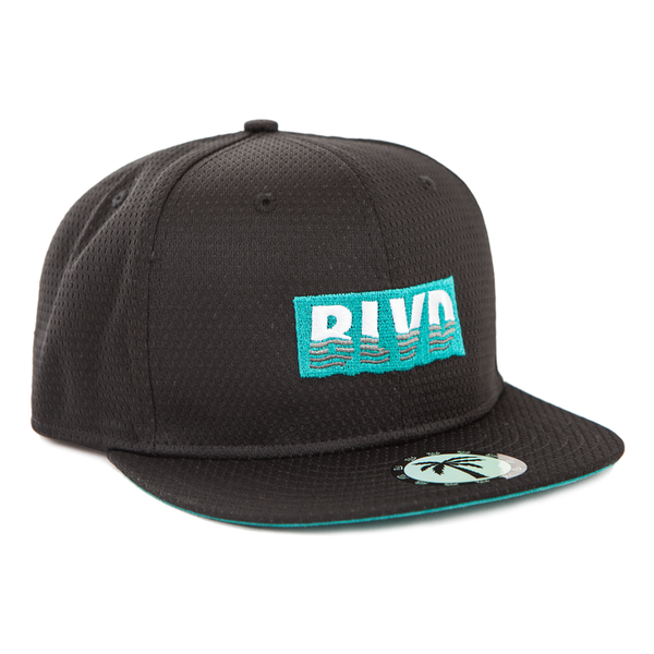 Wavy Rectangle Hat - BLVD Supply inc