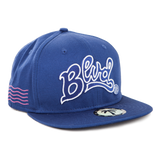 Blvd Supply Outlined Snapback - BLVD Supply inc