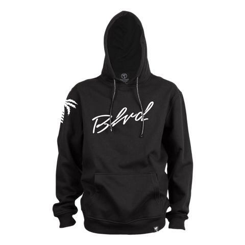 Slanted Hoodie - BLVD Supply inc