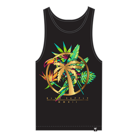 Blvd Supply Paradise Circle Tank - BLVD Supply inc