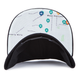 Blvd Supply Map Out Hat - BLVD Supply inc