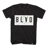 Blvd Supply Map Out Tee - BLVD Supply inc