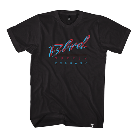 Blvd Supply Blurs Tee - BLVD Supply inc