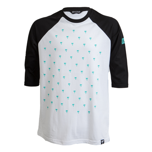Tree Dots Raglan - BLVD Supply inc