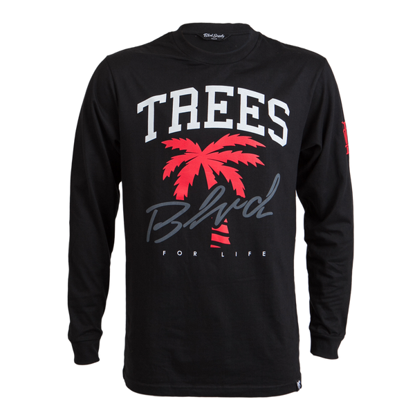 Trees 4 Life Long Sleeve Tee - BLVD Supply inc