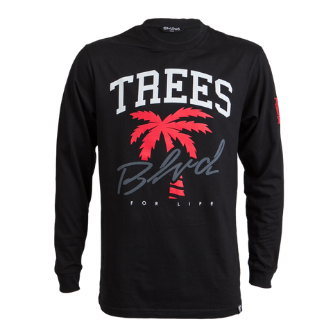 Blvd Supply Trees 4 Life Long Sleeve Tee - BLVD Supply inc