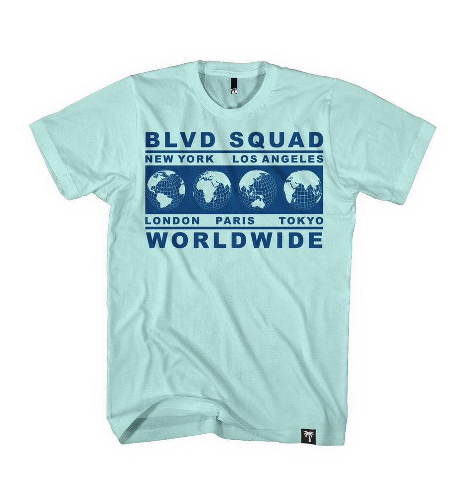 Worldwide Tee - BLVD Supply inc