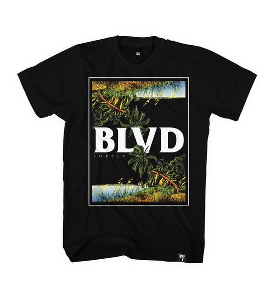 Jungle Palm Tee - BLVD Supply inc