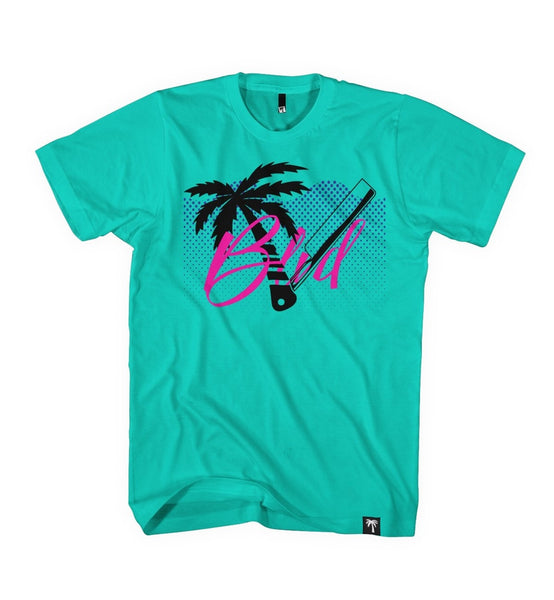 Palm Blade Tee - BLVD Supply inc