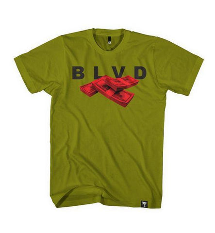 Blood Money Tee - BLVD Supply inc