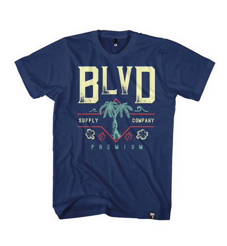 Waves Tee - BLVD Supply inc