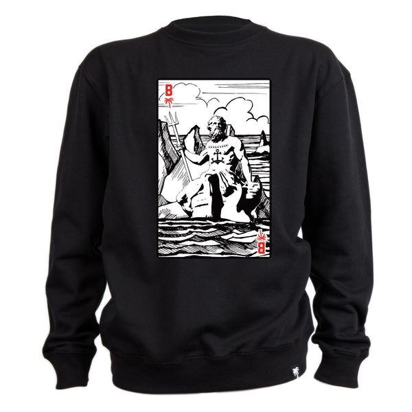 Water God Crew Fleece - BLVD Supply inc