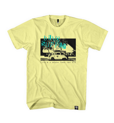 Beach Bus Tee - BLVD Supply inc