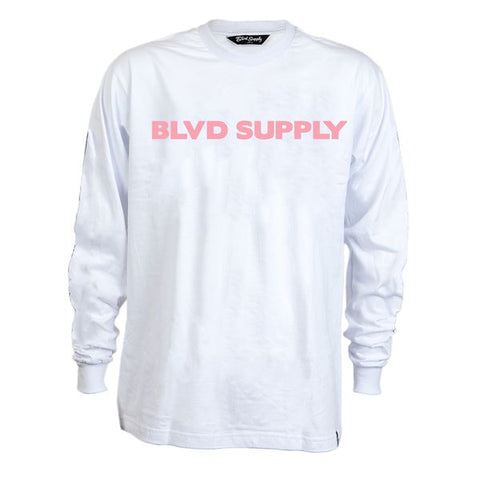 Careless Long Sleeve Tee - BLVD Supply inc