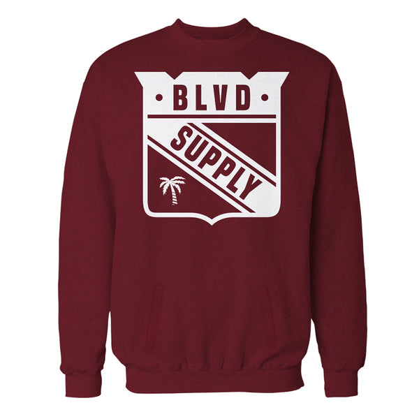 Long Range Crew Neck Fleece - BLVD Supply inc