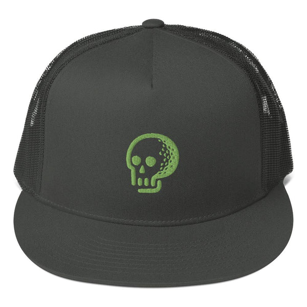 Death Ball Trucker Hat - BLVD Supply inc