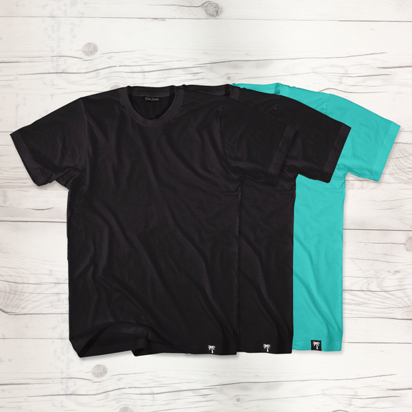 Basic Men's Short Sleeve T-Shirt 3 Pack #4 - BLVD Supply inc