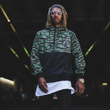 Tiger Tree Windbreaker Jacket - BLVD Supply inc