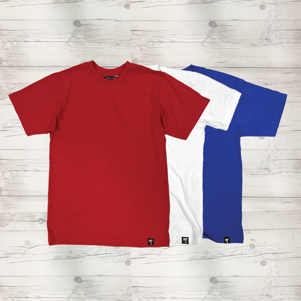 Basic Men's Short Sleeve T-Shirt 3 Pack #2 - BLVD Supply inc