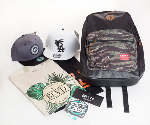 Swag BLVD Back To School Box - Over $150 worth of items.