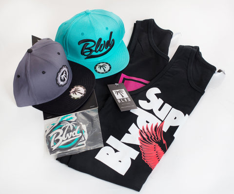Swag Mini BLVD Box Tank - Over $100 worth of items - BLVD Supply inc