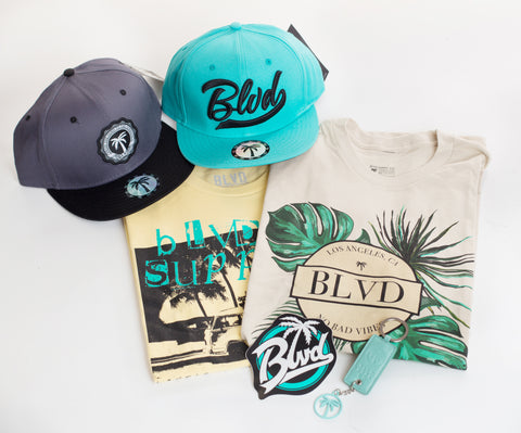 Swag Mini BLVD Box T-Shirt - Over $100 worth of items - BLVD Supply inc