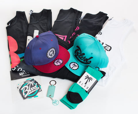 Swag BLVD Box Tanks - Over $200 worth of items. - BLVD Supply inc