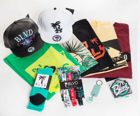 Swag BLVD Box T-Shirt - Over $200 worth of items. - BLVD Supply inc