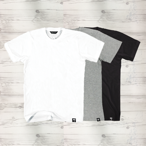 Basic Men's Short Sleeve T-Shirt 3 Pack #1 - BLVD Supply inc