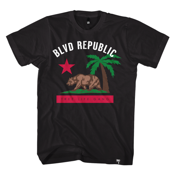 BLVD Republic Tee - BLVD Supply inc
