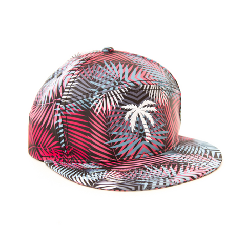 Grey Palm Camper hat - BLVD Supply inc