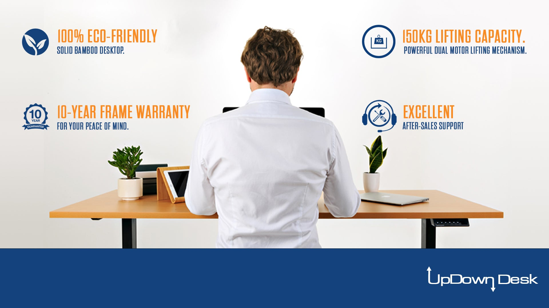 Benefits of Bamboo Sit-Stand Desk