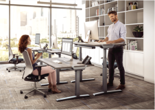 Fellowes Levado Electric Height Adjustable Desk (Frame Only)