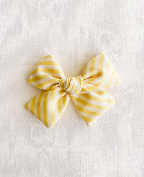 Lemon Stripes Classic Livvy