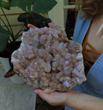 Huge Angel Aura Spirit Quartz Cluster Specimen