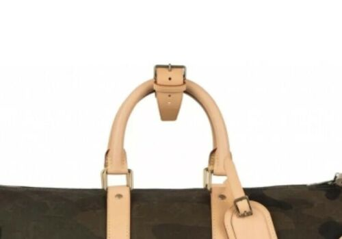 Louis Vuitton Leather Strap 2 PIECES for Keepall Bag Handle - Poignet