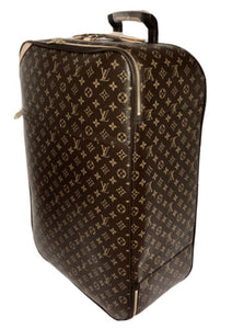 Louis Vuitton Pegase 70 Classic Luggage Suitcase Bag w/ Garment Insert Bag