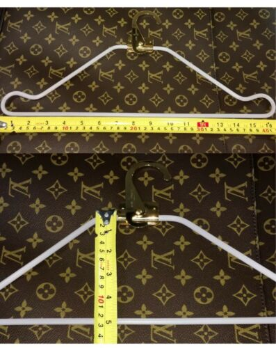 Louis Vuitton Hanger for Garment Insert Bag Goldtone Authentic - ONE PIECE