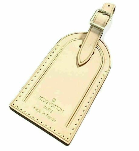 Louis Vuitton Name Tag Stamped Initials EM - 100% Authentic