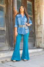 Load image into Gallery viewer, High Waisted Flare Pant