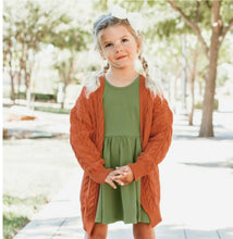 Load image into Gallery viewer, Orange Spice Chunky Cardigan