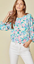 Load image into Gallery viewer, The Ivory Floral Top