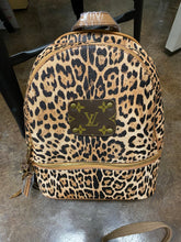 Load image into Gallery viewer, Large Repurposed LV Backpack