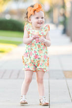 Load image into Gallery viewer, Spring Fling Flutter Romper