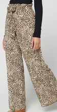 Load image into Gallery viewer, Leopard Paperbag Pant