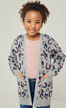 Load image into Gallery viewer, Girls Leopard Cardigan