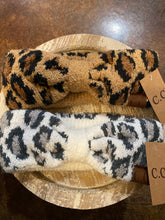 Load image into Gallery viewer, CC Leopard Headwrap