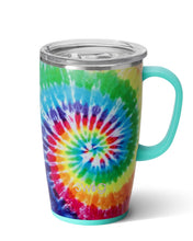 Load image into Gallery viewer, Swirled Peace Travel Mug